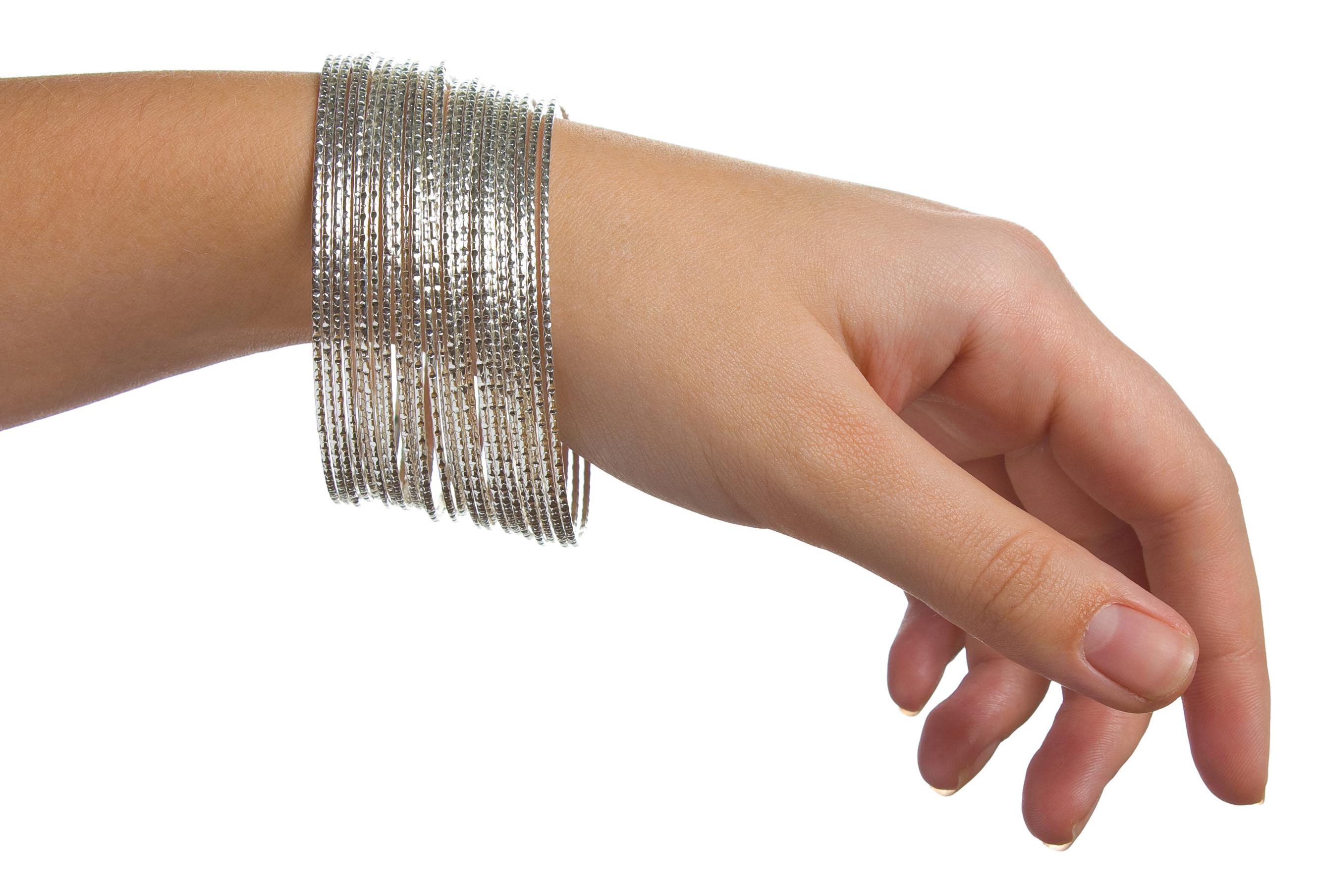 Виды браслетов из металла