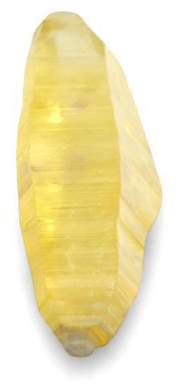 Желтый сапфир 79,19 кар. Цейлон