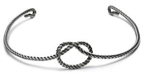 Тиара в форме узла, серебро