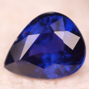 Синий сапфир из Африки