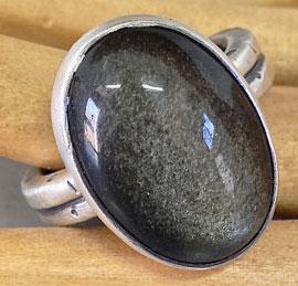 Обсидиан-золотистый---кольцо----etsy.com