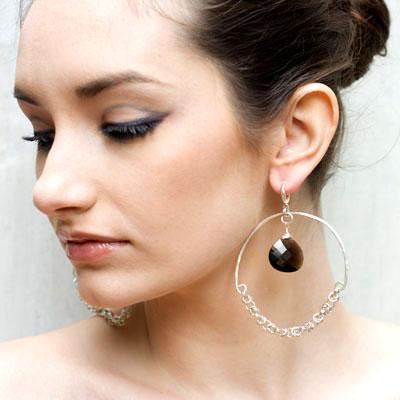 Серьги-кольца большие (фото с сайта bestontop.com)