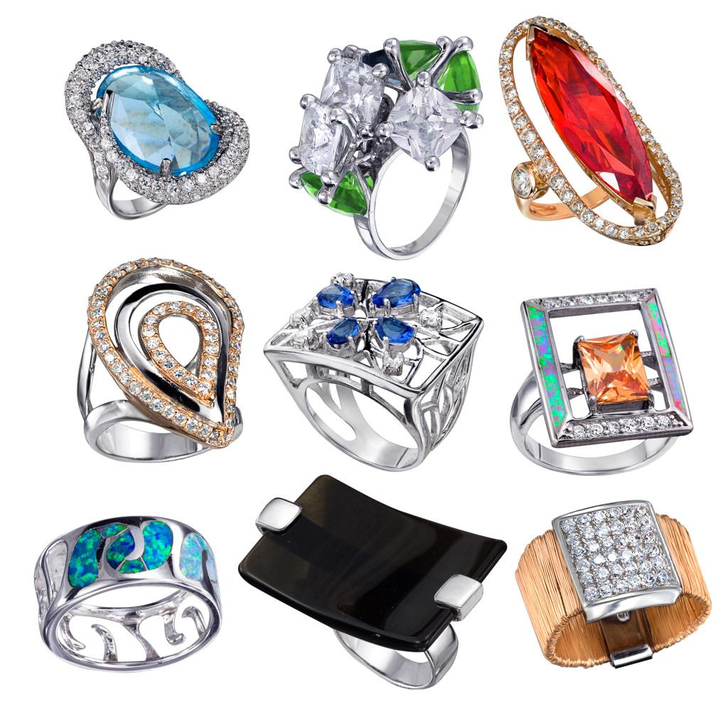 Какие бывают кольца?