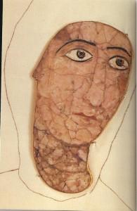 грузинская эмаль икона Хахульской божией матери