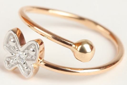 Детское кольцо от Дамика