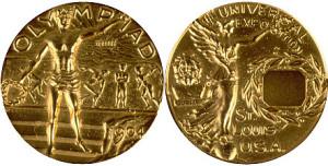 Медали к Олимпиаде в Сент-Луисе 1904г