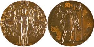 Медали к Олимпиаде в Стокгольме 1912г