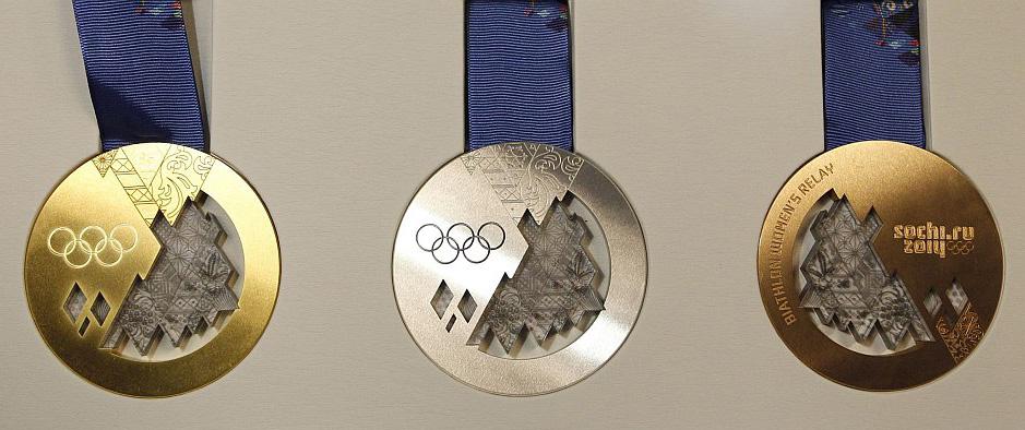 Сочи-2014.-Комплект-медалей.-Фото-Рейтер