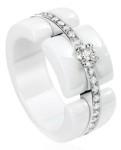 Кольцо из белой керамики Шанель - chanel.com