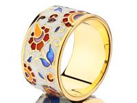 Namfleg кольцо с перегородчатой эмалью (фото с сайта evora.ru)