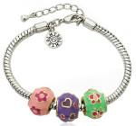 Браслет для девочки с шармами - фото overstock.com