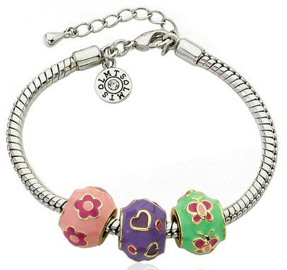 Детские браслеты для девочек серебро