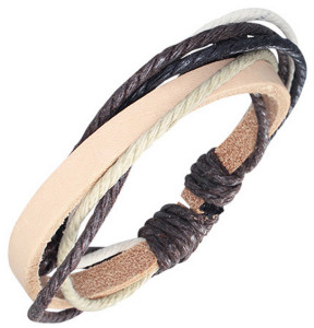 Кожаный браслет - фото overstock.com