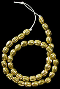 Древние греческие золотые бусы-первое-тысячелетие-ДНЭ-ancientresource.com