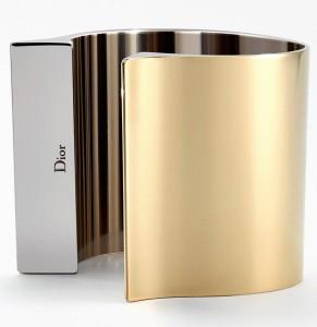 Золотой браслет-манжета Диор dior.com