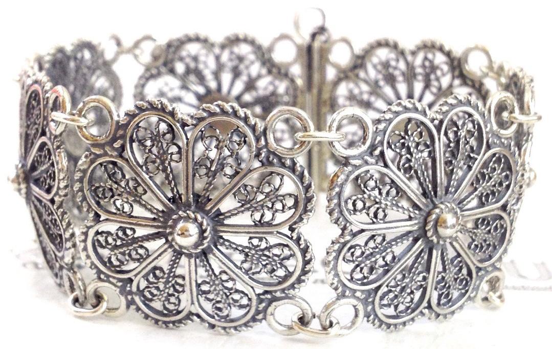 Женские браслеты филигрань