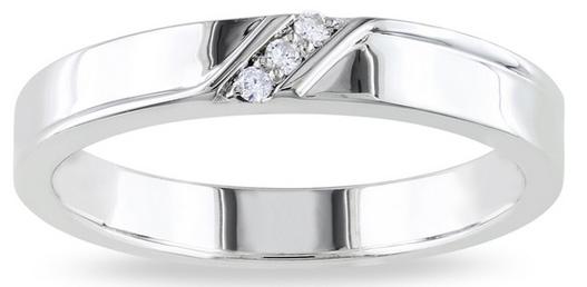... Мужское серебряное кольцо с бриллиантами - фото overstock.com ... 91bfccf0fa2