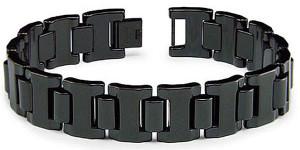 Мужской браслет в гладиаторском стиле из карбида вольфрама - фото overstock.com