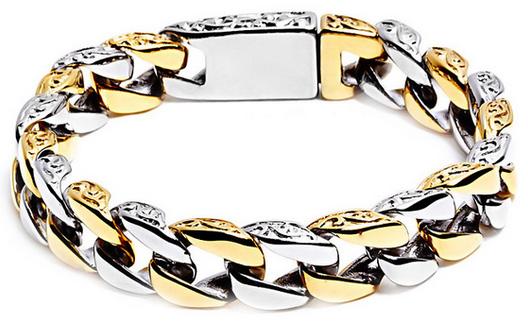 Виды мужские золотые браслеты