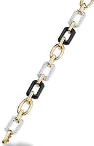 Шанель-Baroque-браслет-цепь-белое-и-желтое-золото-ониксы-и-бриллианты---chanel.com