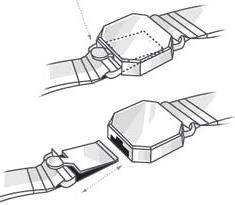 Схема коробчатой застёжки браслета -okajewelry.com