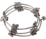 Тибетский-серебряный-браслет-на-ногу---overstock.com