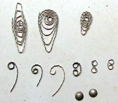 Изготовление филиграни- фото handmadejewelrybycreationsdenispicard.blogspot.ru