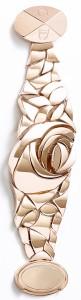 Золотой браслет в цветочном стиле Диор dior.com