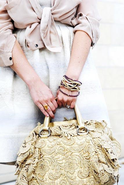 Как носить браслеты - фото law-of-fashion.com
