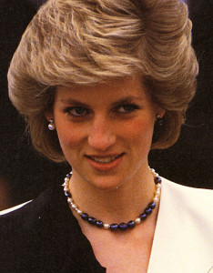Принцесса Диана в жемчужном колье - фото theroyalforums.com
