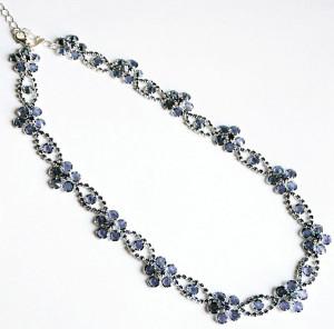 Ожерелье из страз Яблонекс