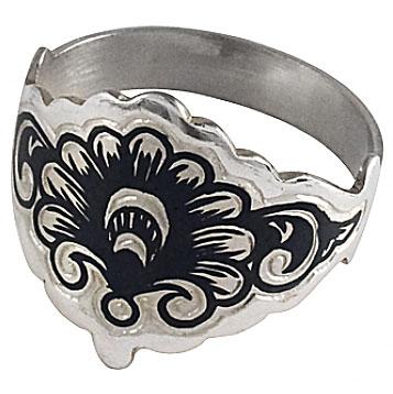 Кольцо-серебряное-с-чернением-производства-Северная-чернь---sevchern.ru