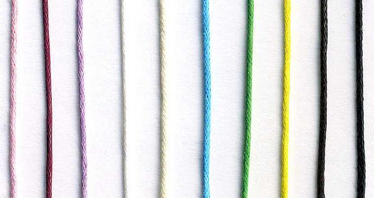 Что такое вощеный шнур в скрапбукинге