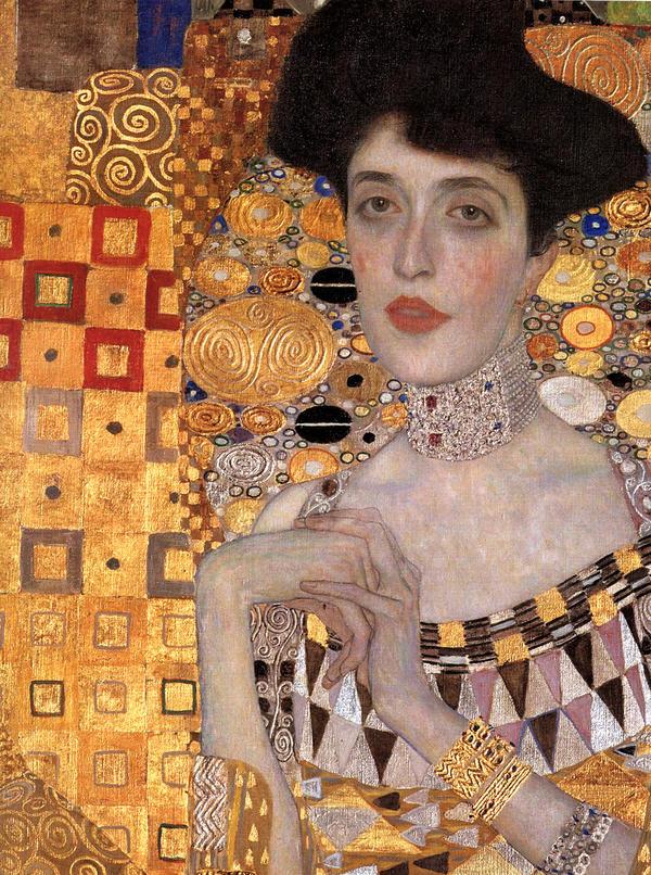 Густав Климт - изображение коье-чокера - photos.foter.com