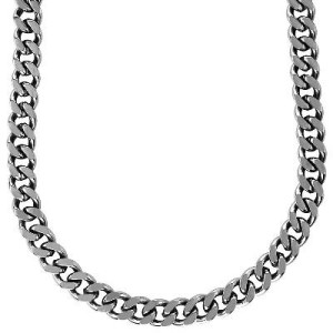 Мужская-цепочка-из-стали,-панцирное-плетение---zales.com