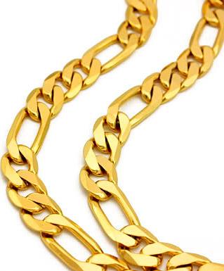 Цепочки на шею мужские - золотые, серебряные, стальные - как