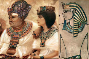 Ускх - шейное украшение в Древнем Египте - фото ic.pics.livejournal.com