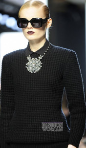 Колье Bottega Veneta - фото fashion-woman.com