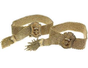 Парные браслеты 19 век - beladora.com