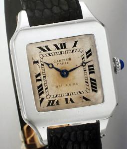 Часы Cartier Santos Dumont, 1910