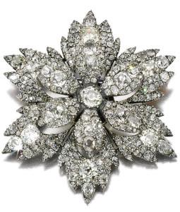 Бриллиантовая брошь начало 19 века--sothebys.com
