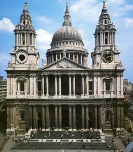 Собор St.-Paul's Лондон 1675-1710 -образец барокко - quizlet.com
