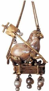 Подвеска-с-барочной-жемчужиной-ягненок-с-флагом---символом-Христа-Франция-16-век---coalajane.livejournal.com