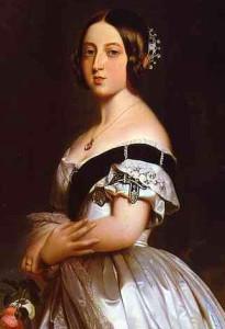 Королева Виктория в бриллиантовой тиаре