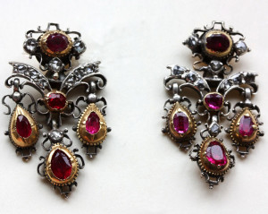 Серьги-жирандоль-Англия-18-век---inezstodel.com