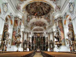 Basilica-at-Ottobeuren-(Bavaria) эпоха Рококо---en.wikipedia.org