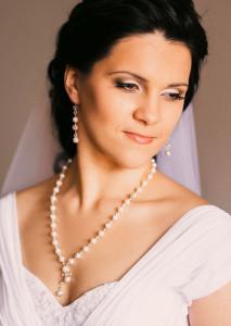 Жемчужное свадебное колье - nevesta.info