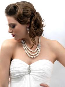 Жемчужное свадебное колье - weddings.usabride.com