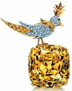 Брошь-Птица-на-камне-Tiffany---kamen4all.ru