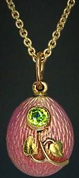Карл Фаберже - подвеска-яйцо в стиле ар нуво-1908-1913---romanovrussia.com